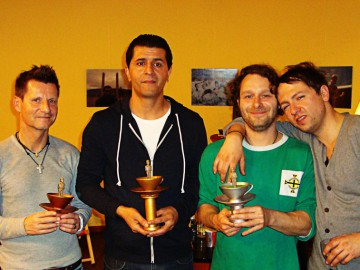 WINNERS of the 10th ALLSTARkicker CUP