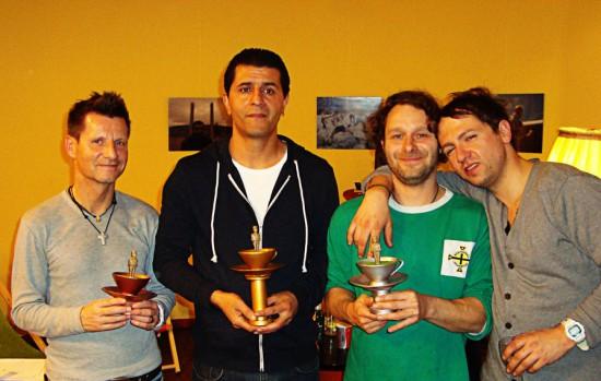 WINNERS of the 10th ALLSTARkicker CUP